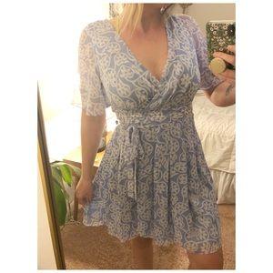 DVF silk dress *NEW W/ TAGS*